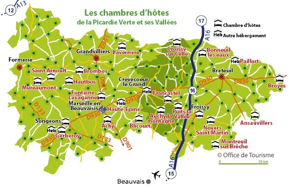 Chambres D Hotes De La Picardie Verte Et Ses Vallees Et Gerberoy